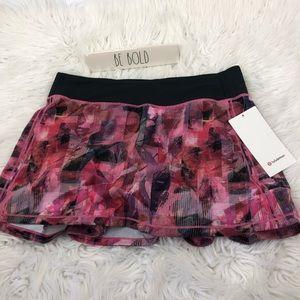 Lululemon Pace Rival Skirt 8Tall